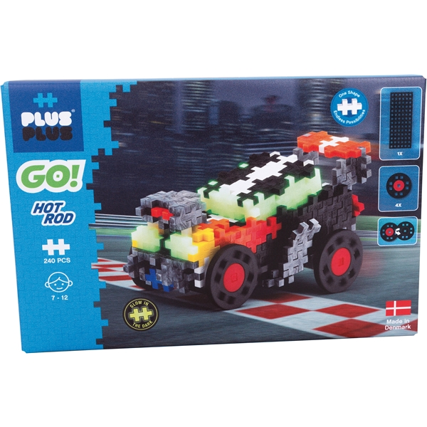 Plus-Plus Go! Hot Rod (Bild 1 av 5)