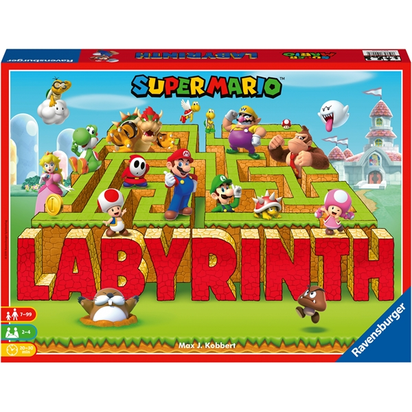Super Mario Labyrinth (Bild 1 av 3)
