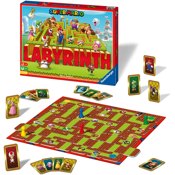 Super Mario Labyrinth (Bild 3 av 3)