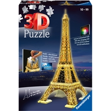 Pussel 3D Eiffel Tower N.Edition