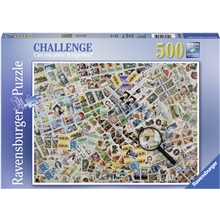 Pussel 500 Bitar Stamps Challenge