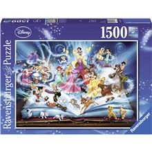 Pussel 1500 Bitar Disney's Magical Storybook
