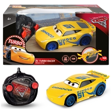 Disney Cars Radiostyrd Cruz Turbo Racer