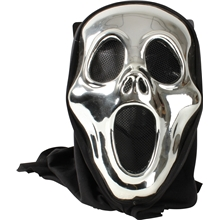 Halloween Metallic Mask - Scream