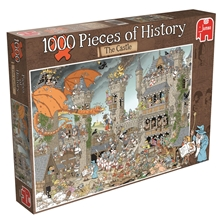 Pussel 1000 Bitar Pieces of History The Castle