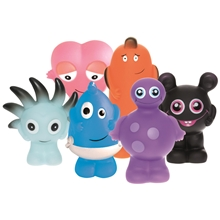 Babblarna Plastfigurer GS-mix 6-pack
