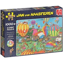 Pussel 1000 Bitar - The Balloon festival
