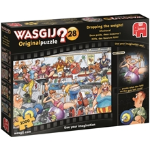 Wasgij Original #28 Dropping