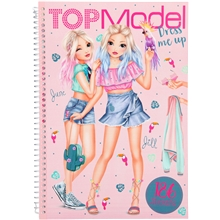 TOPModel Dress me up Stickersbok