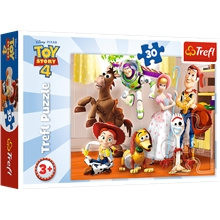 Pussel 30 Bitar Toy Story 4 Ready To Play