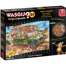 Wasgij Original #31 Safari Surprise