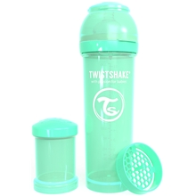Twistshake Anti-Colic 330 ml Pastell Grön