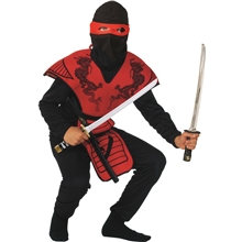 Röd Ninja Fighter