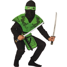 Grön Ninja Fighter