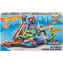 Hot Wheels Gator Car Wash Lekset
