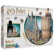 Wrebbit 3D Pussel Harry Potter Hogwarts Great Hall