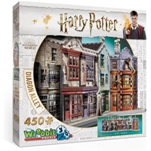 Wrebbit 3D Pussel Harry Potter Diagon Alley