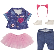 BABY born Deluxe Jeans Dress Set